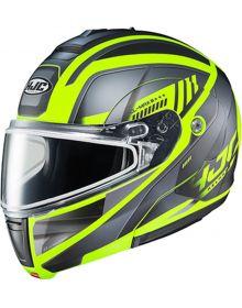 HJC CL-MAX3 Snowmobile Helmet Gallant Black/Hi Vis