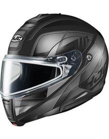 HJC CL-MAX3 Snowmobile Helmet Gallant Black/Gray