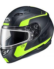 HJC CS-R3 Snowmobile Helmet Dosta Black/Hi Vis