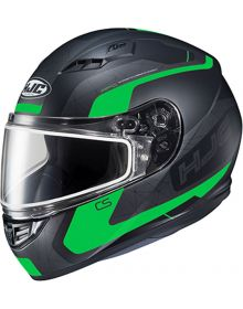 HJC CS-R3 Snowmobile Helmet Dosta Black/Green