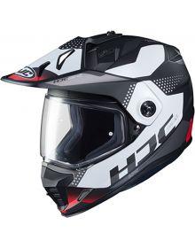 HJC DS-X1 Snowmobile Helmet Tactic Black/White/Red
