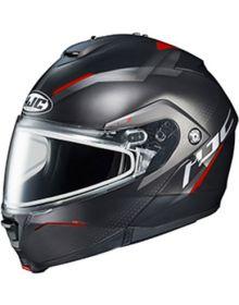 HJC IS-MAX2 Snowmobile Helmet Dova Black/Red