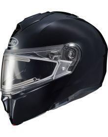 HJC i90 Electric Snowmobile Helmet Black