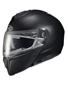 HJC i90 Electric Snowmobile Helmet Semi-Flat Black