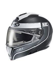 HJC i90 Electric Snowmobile Helmet Davan Gray
