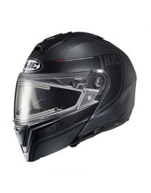 HJC i90 Electric Snowmobile Helmet Davan Black