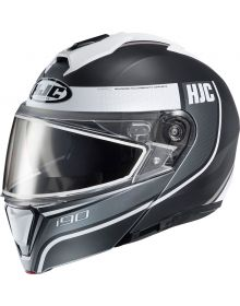 HJC i90 Snowmobile Helmet Davan Gray