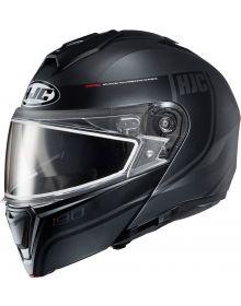 HJC i90 Snowmobile Helmet Davan Black