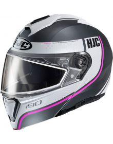 HJC i90 Snowmobile Helmet Davan Pink