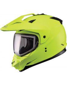 Gmax GM11S Snow Sport Helmet Hi-Vis Yellow