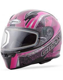 Gmax FF49 Elegance Snow Helmet Black/Pink