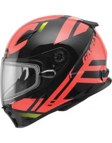 Gmax FF49 Berg Snow Helmet Black/Red