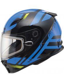Gmax FF49 Berg Snow Helmet Black/Blue