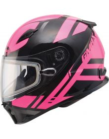 Gmax FF49 Berg Snow Helmet Black/Pink
