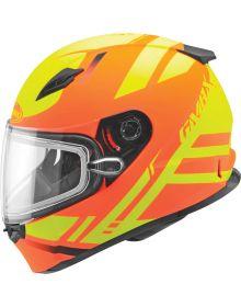 Gmax FF49 Berg Snow Helmet Hi-Vis Orange/Yellow
