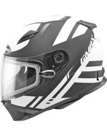 Gmax FF49 Berg Snow Helmet Flat Black/White