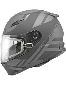 Gmax FF49 Berg Snow Helmet Flat Black/Silver