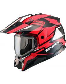 Gmax GM11 Vertical Snow Helmet Black/Red