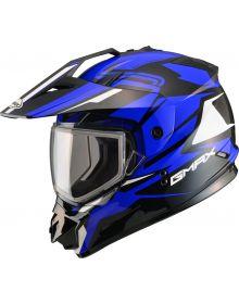 Gmax GM11 Vertical Snow Helmet Black/Blue