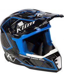 Klim 2019 F5 Helmet Demolish Blue