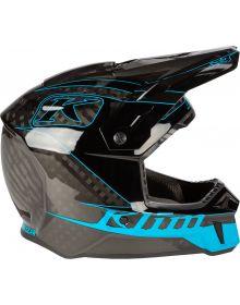 Klim 2021 F3 Carbon Helmet Draft Vivid Blue