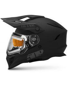 509 Delta R3 2.0 Electric Snowmobile Helmet w/Fidlock Matte Ops