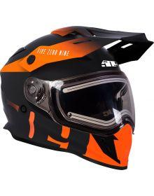509 Delta R3 2.0 Electric Snowmobile Helmet w/Fidlock Orange 2019