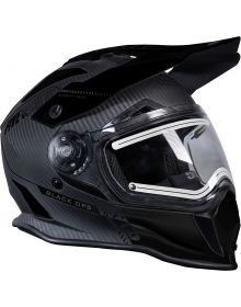 509 Delta R3 Carbon Fiber Ignite Snowmobile Helmet Black Ops