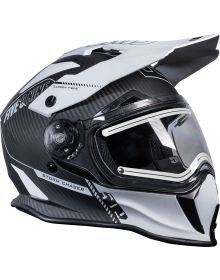 509 Delta R3 Carbon Fiber Ignite Snowmobile Helmet Storm Chaser