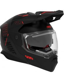 509 Delta R4 Ignite Modular Snowmobile Helmet Black Aura