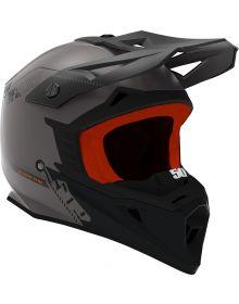 509 Tactical Snowmobile Helmet Black Fire