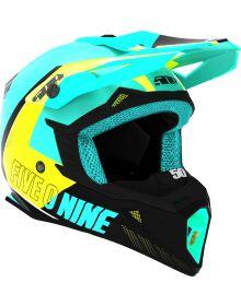 509 Tactical Snowmobile Helmet Teal/Hi-Vis