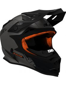 509 Altitude Snowmobile Helmet Black Fire