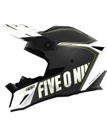 509 Alititude 2.0 Carbon Fiber Snowmobile Helmet Storm Chaser