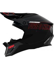 509 Altitude 2.0 Snowmobile Helmet Red Aura