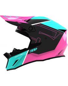 509 Altitude 2.0 Snowmobile Helmet Teal Aura