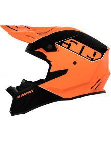 509 Altitude 2.0 R-Series Snowmobile Helmet Orange Matte