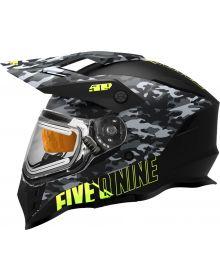 509 Delta R3L Ignite Snowmobile Helmet w/Fidlock Black Camo
