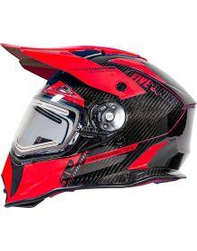509 Delta R3L Carbon Fiber Ignite Helmet - Vermillion Ops