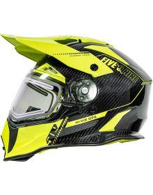 509 Delta R3L Carbon Fiber Ignite Helmet - Hi-Vis Ops