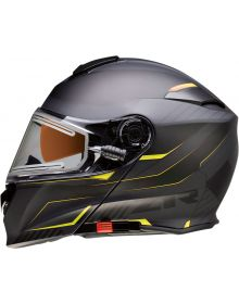 Z1R Solaris Electric Scythe Modular Snow Helmet Hi-Vis/Black