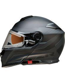Z1R Solaris Electric Scythe Modular Snow Helmet Black/Gray