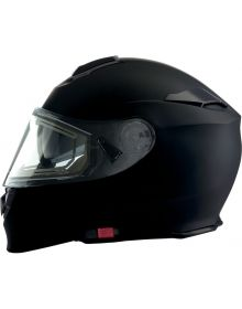 Z1R Solaris Electric Modular Snow Helmet Flat Black