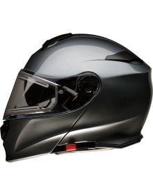 Z1R Solaris Electric Modular Snow Helmet Dark Silver
