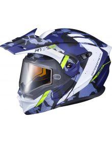 Scorpion EXO-AT950 Snow Helmet Outrigger Matte Blue