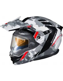 Scorpion EXO-AT950 Electric Snow Helmet Outrigger Matte Blue
