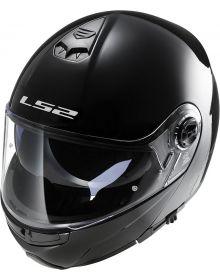 LS2 Helmets Strobe Modular Snow Helmet Matte Black