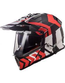 LS2 Pioneer V2 Electric Snowmobile Helmet Xtreme
