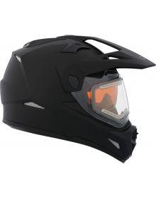 CKX Quest RSV Electric Snowmobile Helmet Matte Black