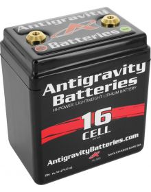 Antigravity Lithium-Ion Battery 16-Cell Up To 1600cc Street